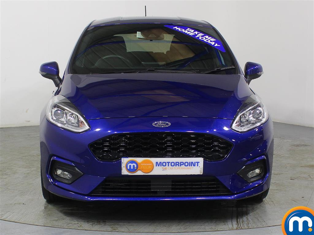 Ford Fiesta St-Line Manual Petrol Hatchback - Stock Number (960603) - Front bumper