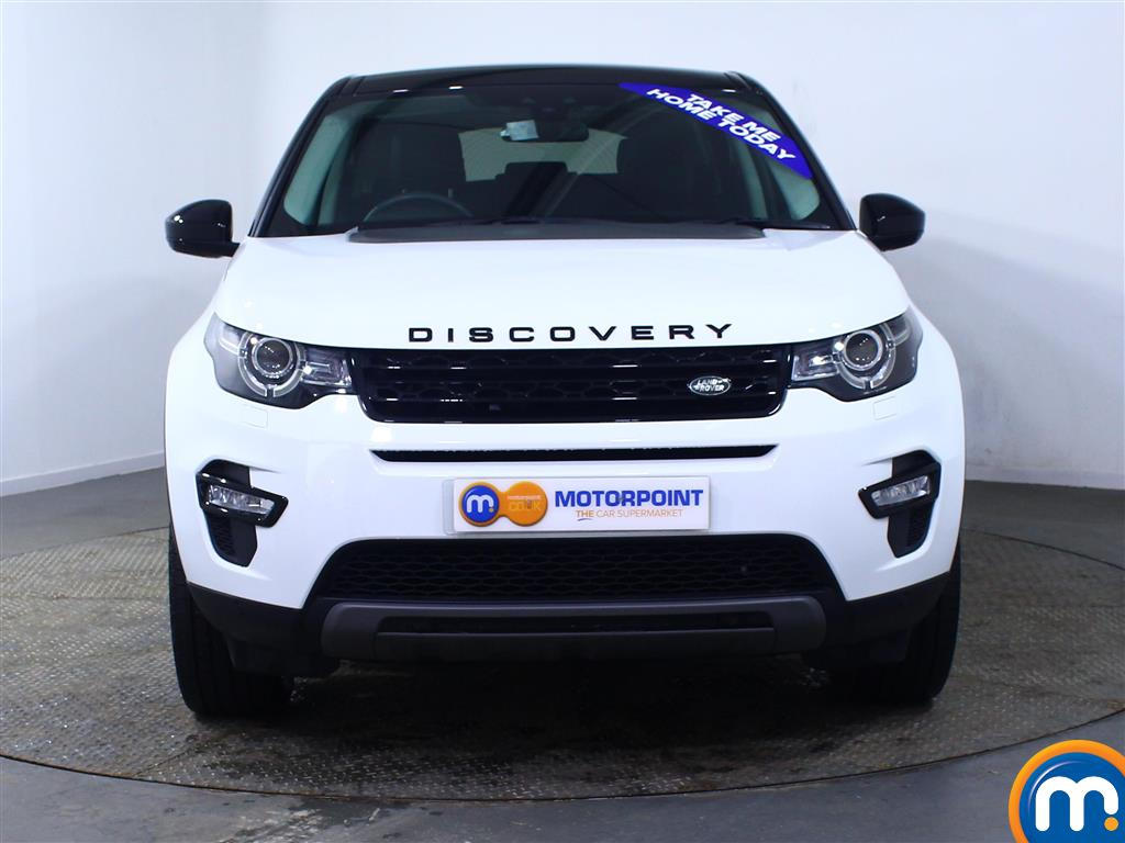 Land Rover Discovery Sport Hse Black Automatic Diesel 4X4 - Stock Number (969829) - Front bumper