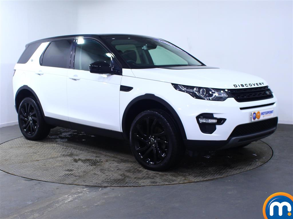 Land Rover Discovery Sport Hse Black Automatic Diesel 4X4 - Stock Number (969829) - Drivers side front corner