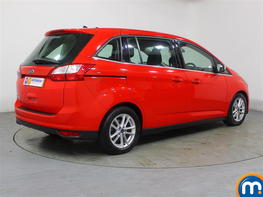 Ford Grand C-Max Zetec Manual Diesel People Carrier - Stock Number (966968) - Drivers side rear corner