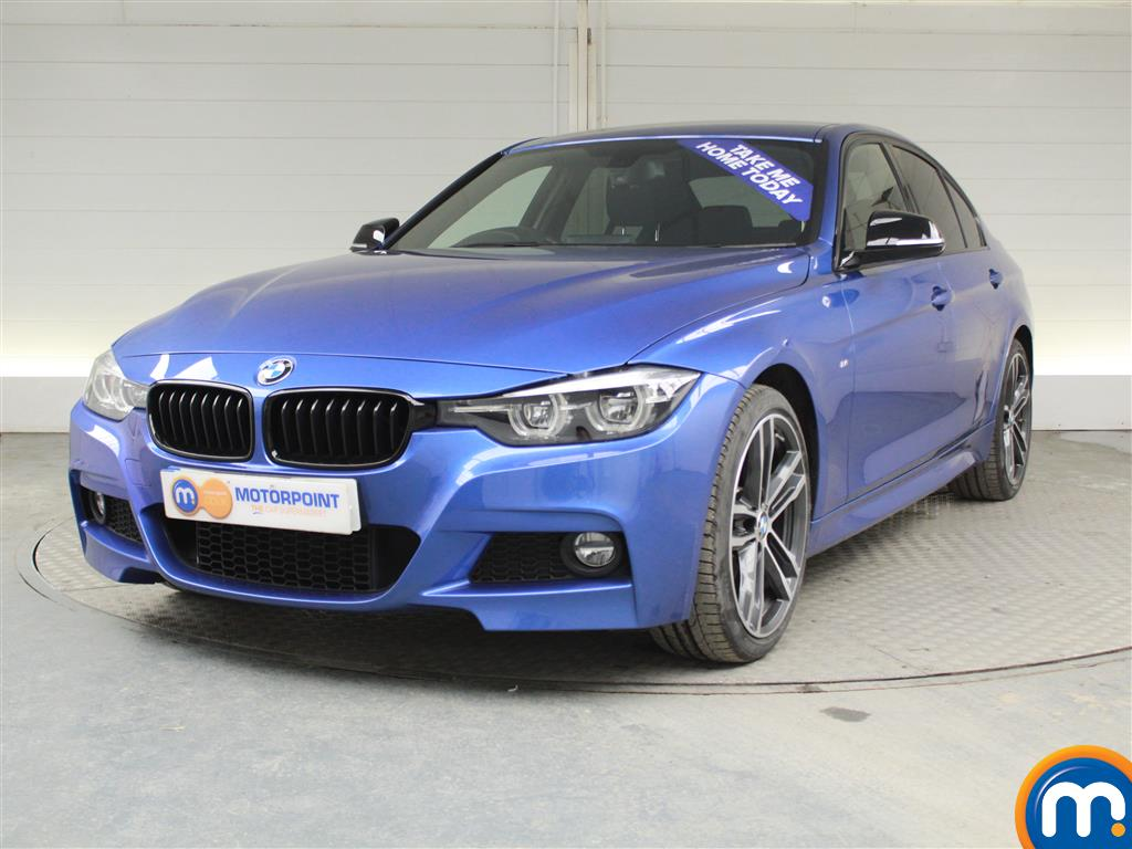 BMW 3 Series M Sport Shadow Edition - Stock Number (964576) - Passenger side front corner