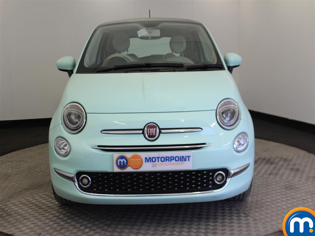 Fiat 500 Lounge Manual Petrol Hatchback - Stock Number (966362) - Drivers side front corner