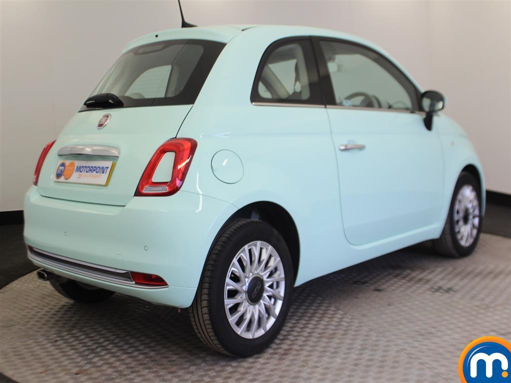 Fiat 500 Lounge Manual Petrol Hatchback - Stock Number (966362) - Drivers side rear corner
