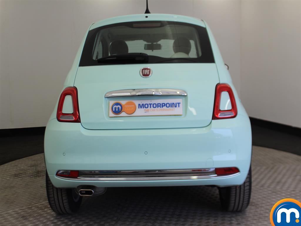 Fiat 500 Lounge Manual Petrol Hatchback - Stock Number (966362) - Rear bumper
