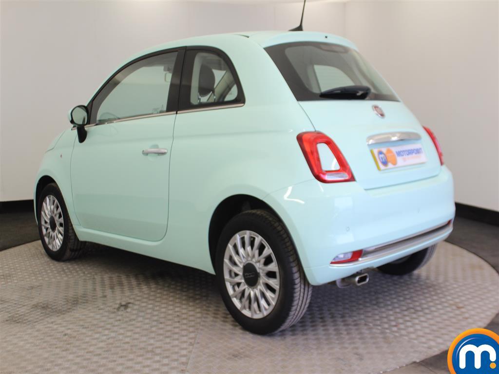 Fiat 500 Lounge Manual Petrol Hatchback - Stock Number (966362) - Passenger side rear corner