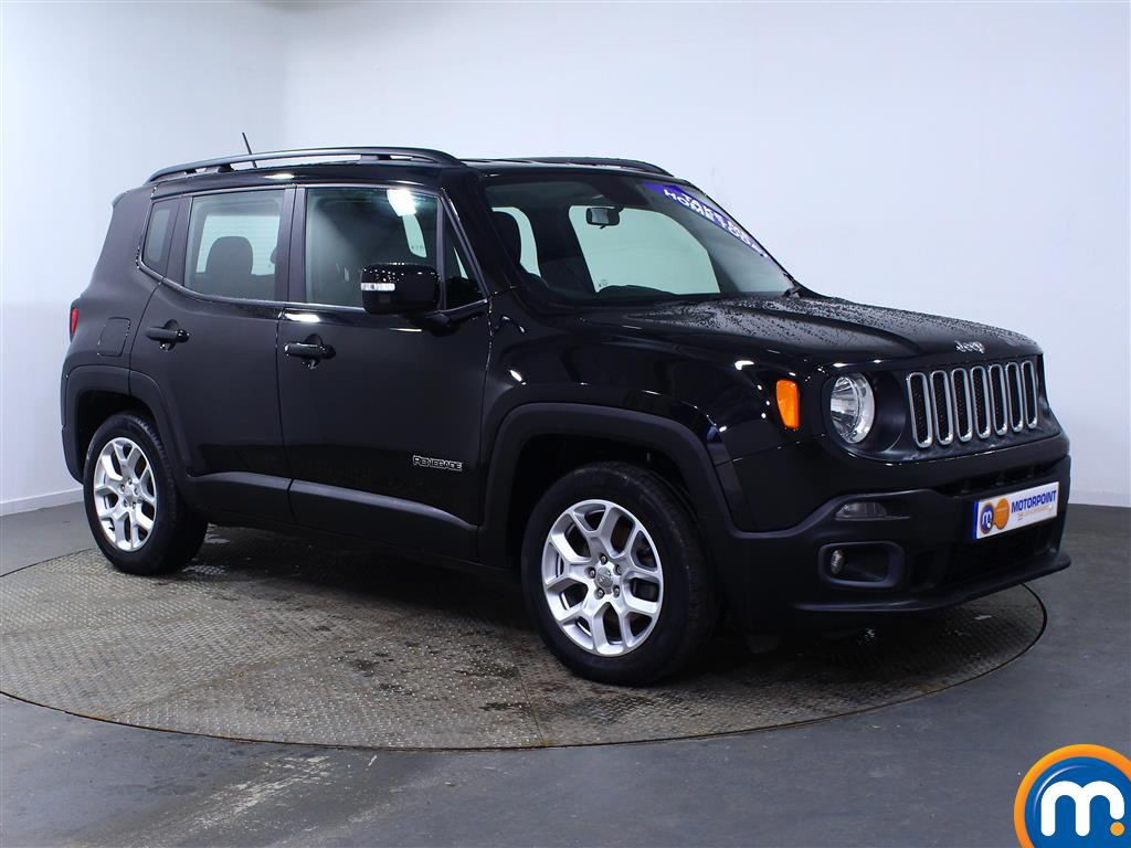 Jeep Renegade Longitude Manual Diesel Crossover - Stock Number (965315) - Drivers side front corner