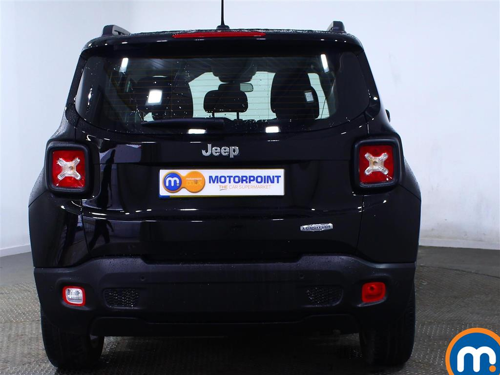 Jeep Renegade Longitude Manual Diesel Crossover - Stock Number (965315) - Rear bumper