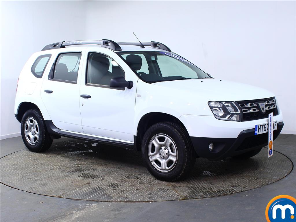 Dacia Duster AIR Manual Petrol Crossover - Stock Number (967337) - Drivers side front corner