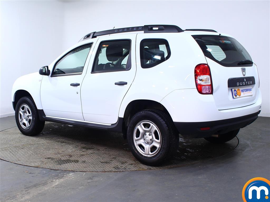 Dacia Duster AIR Manual Petrol Crossover - Stock Number (967337) - Passenger side rear corner