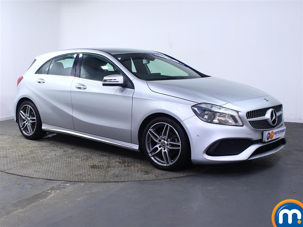 Mercedes-Benz A Class Amg Line Automatic Diesel Hatchback - Stock Number (968975) - Drivers side front corner