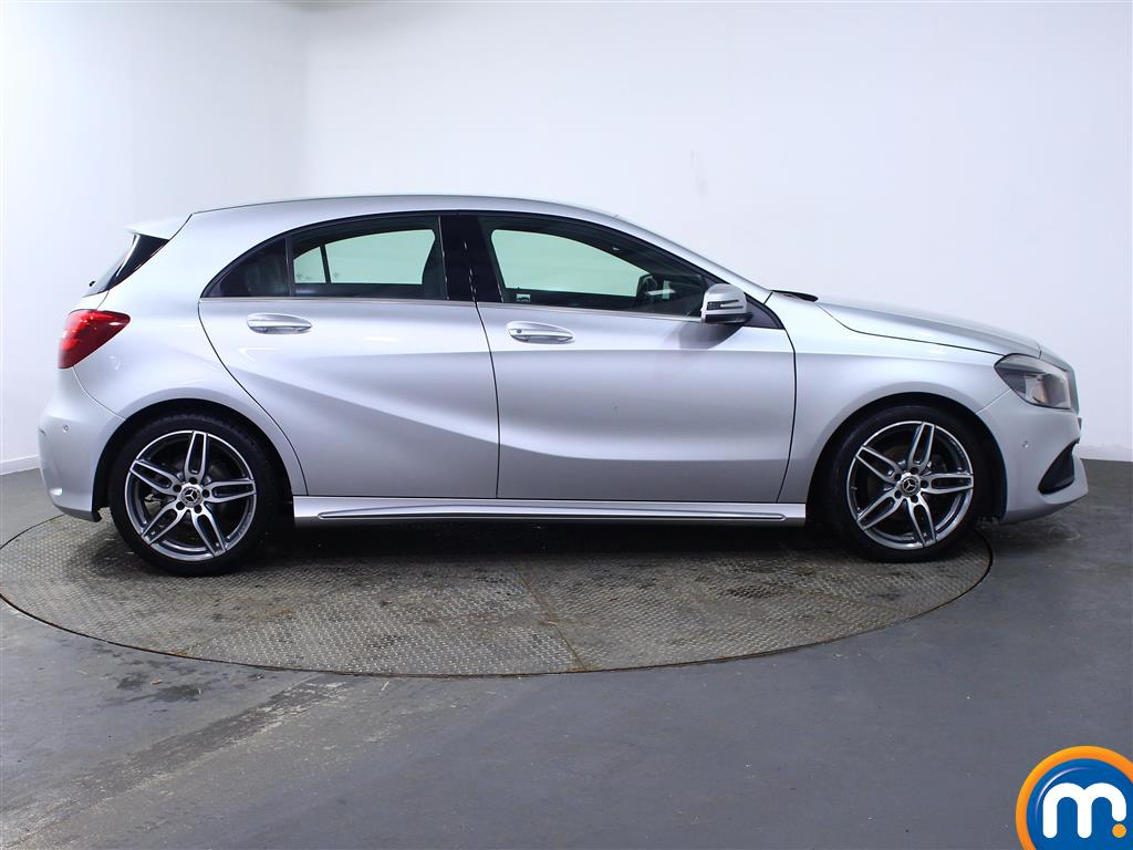Mercedes-Benz A Class Amg Line Automatic Diesel Hatchback - Stock Number (968975) - Drivers side