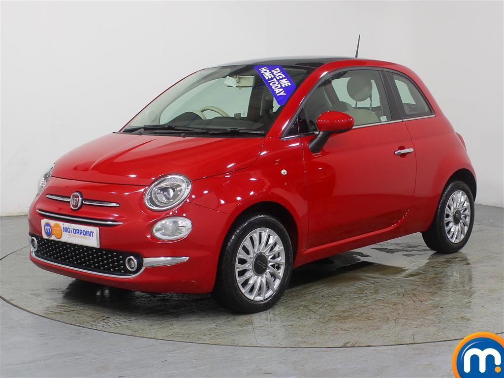 Fiat 500 Lounge - Stock Number (968569) - Passenger side front corner