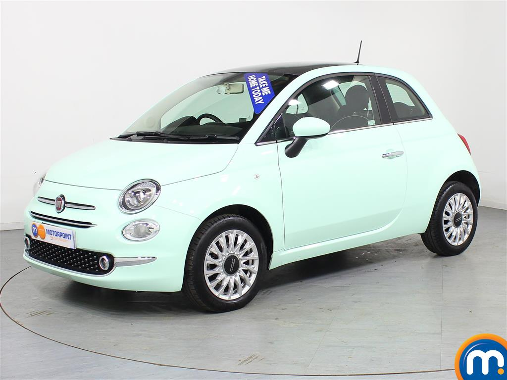 Fiat 500 Lounge - Stock Number (966294) - Passenger side front corner