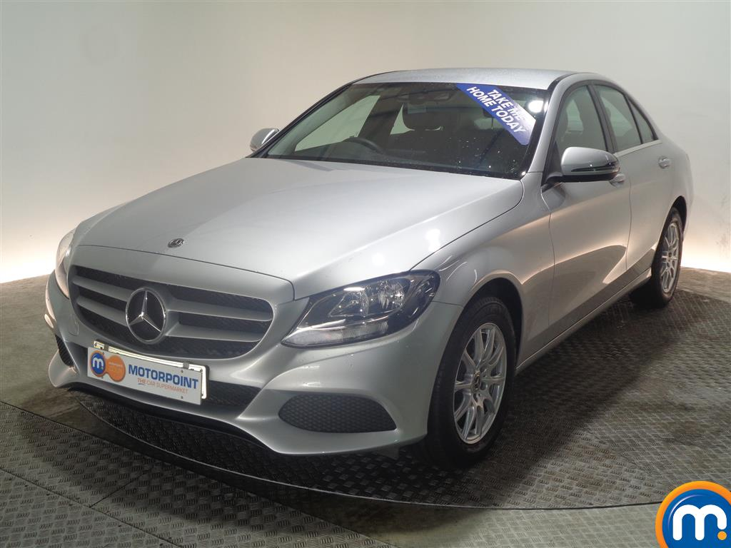Mercedes-Benz C Class SE Manual Petrol Saloon - Stock Number (968963) - Passenger side front corner