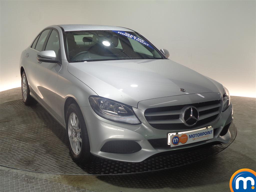 Mercedes-Benz C Class SE Manual Petrol Saloon - Stock Number (968963) - Drivers side front corner