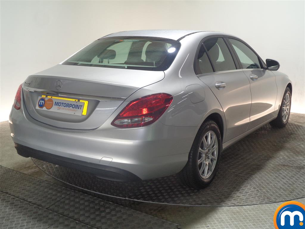 Mercedes-Benz C Class SE Manual Petrol Saloon - Stock Number (968963) - Drivers side rear corner