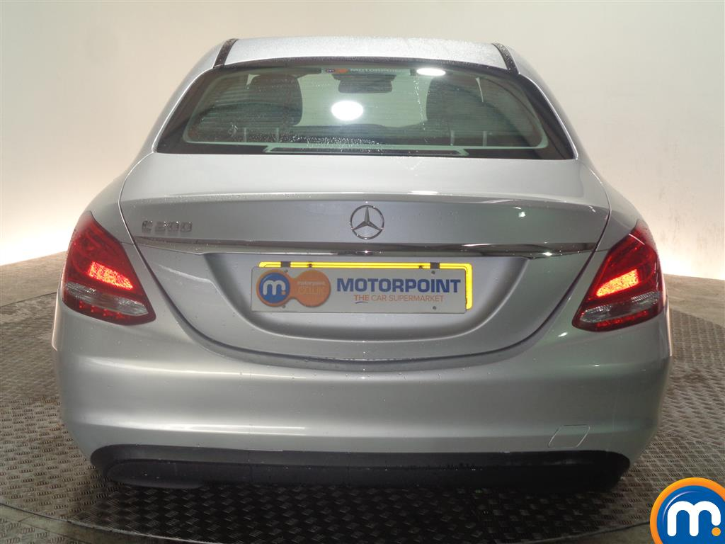 Mercedes-Benz C Class SE Manual Petrol Saloon - Stock Number (968963) - Rear bumper