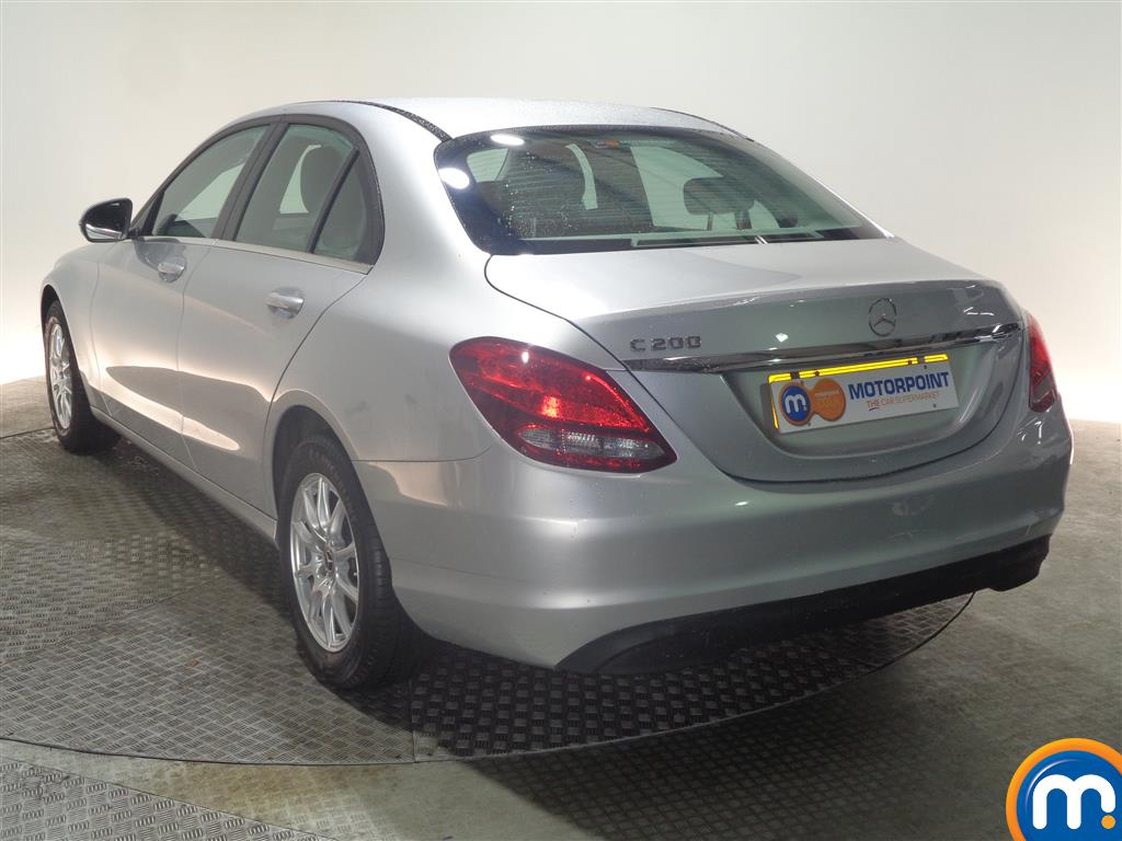 Mercedes-Benz C Class SE Manual Petrol Saloon - Stock Number (968963) - Passenger side rear corner