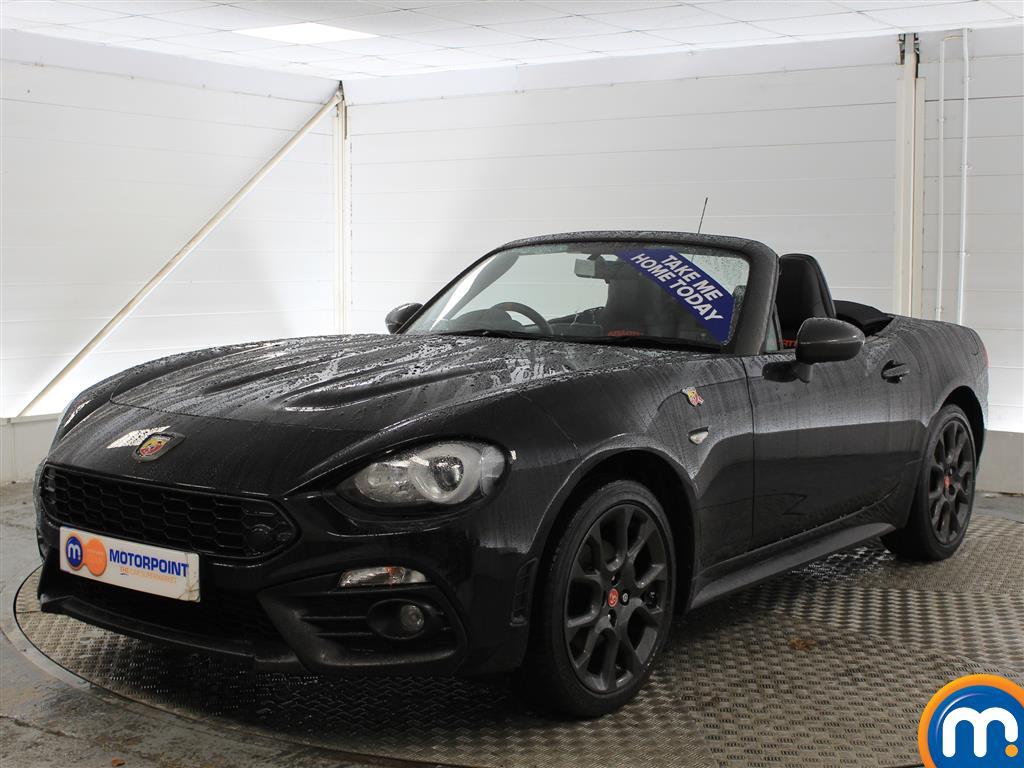 Abarth 124 Spider Scorpione - Stock Number (970269) - Passenger side front corner