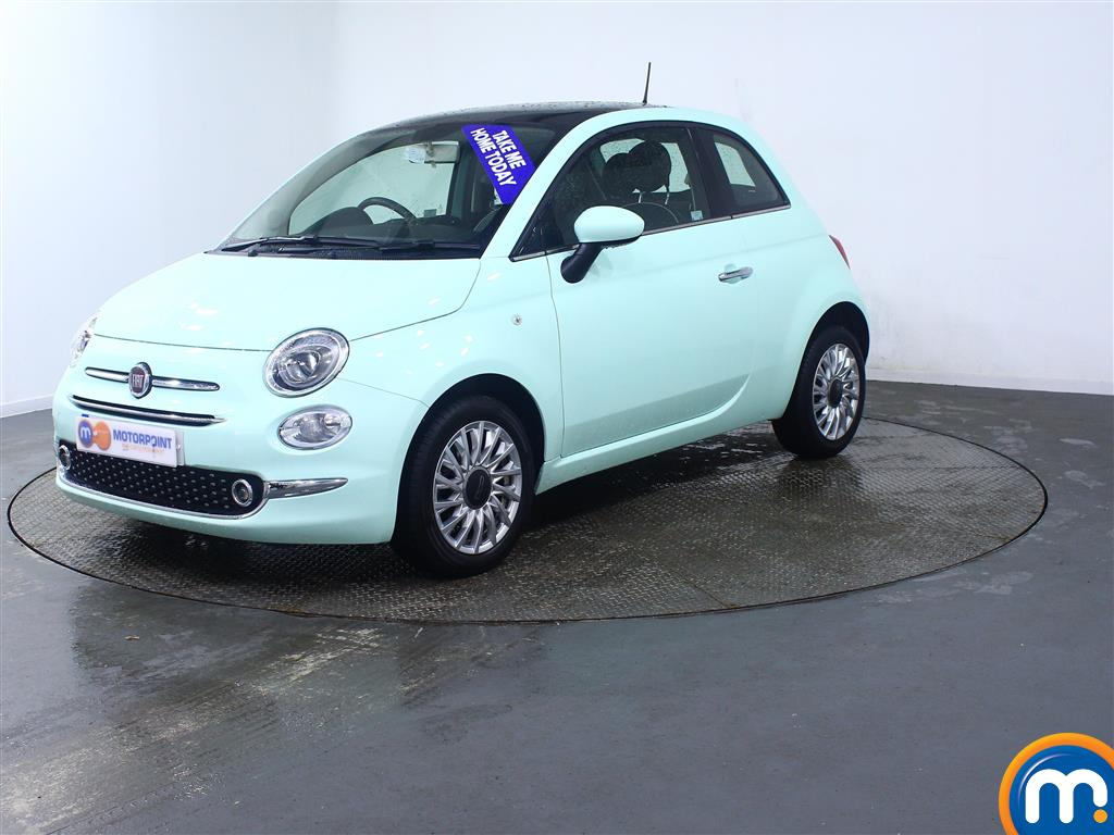 Fiat 500 Lounge - Stock Number (966179) - Passenger side front corner