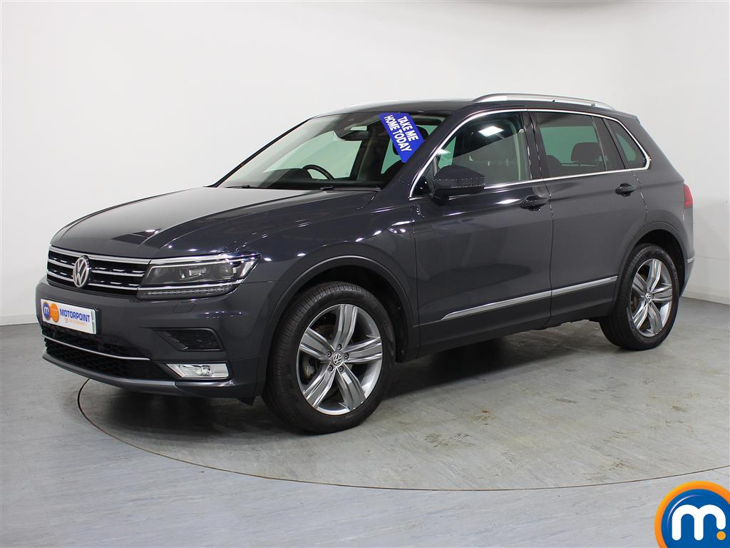 Volkswagen Tiguan SEL - Stock Number (968419) - Passenger side front corner