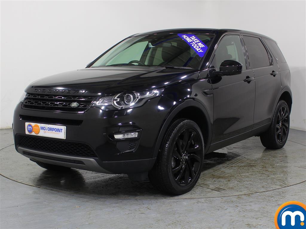 Land Rover Discovery Sport HSE Black - Stock Number (969232) - Passenger side front corner