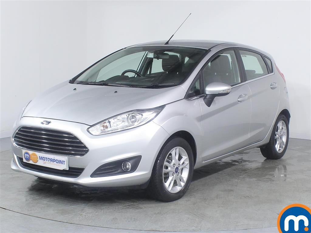 Ford Fiesta Zetec - Stock Number (967307) - Passenger side front corner