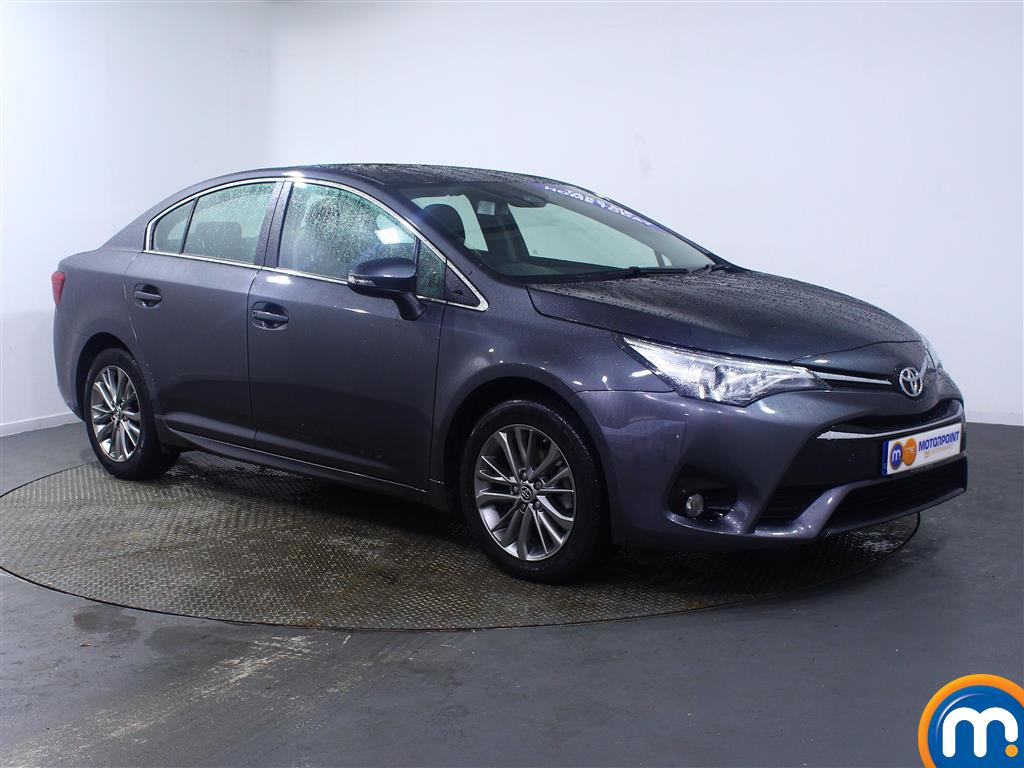Toyota Avensis Business Edition Manual Diesel Saloon - Stock Number (966745) - Drivers side front corner