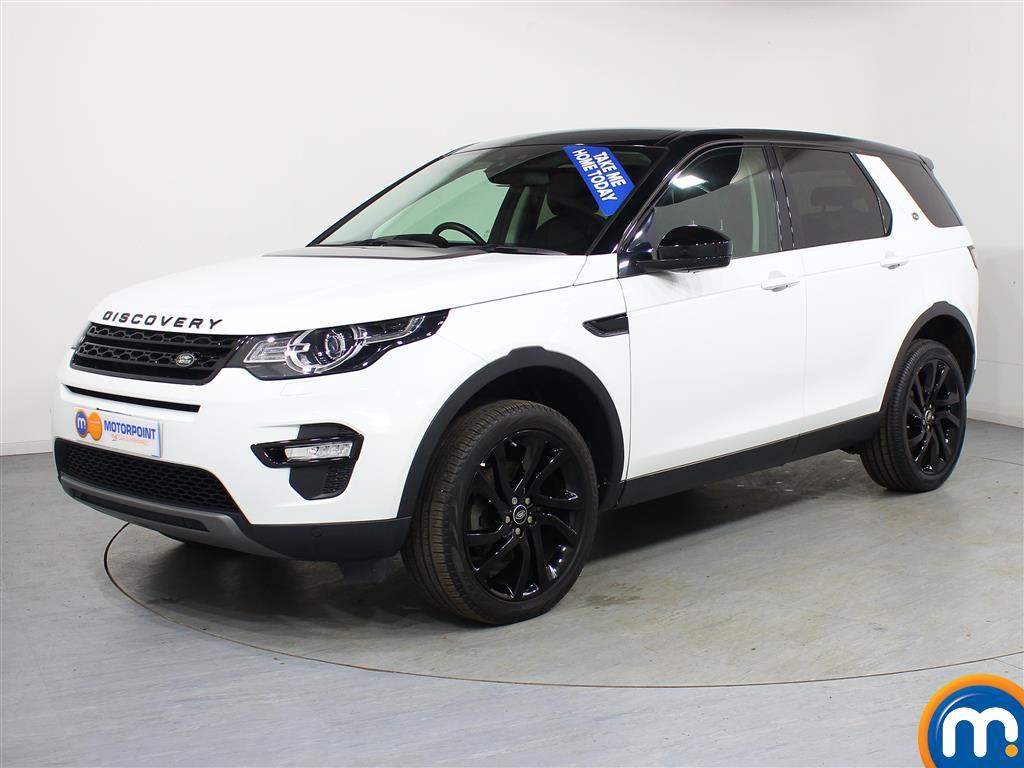 Land Rover Discovery Sport HSE Black - Stock Number (965135) - Passenger side front corner