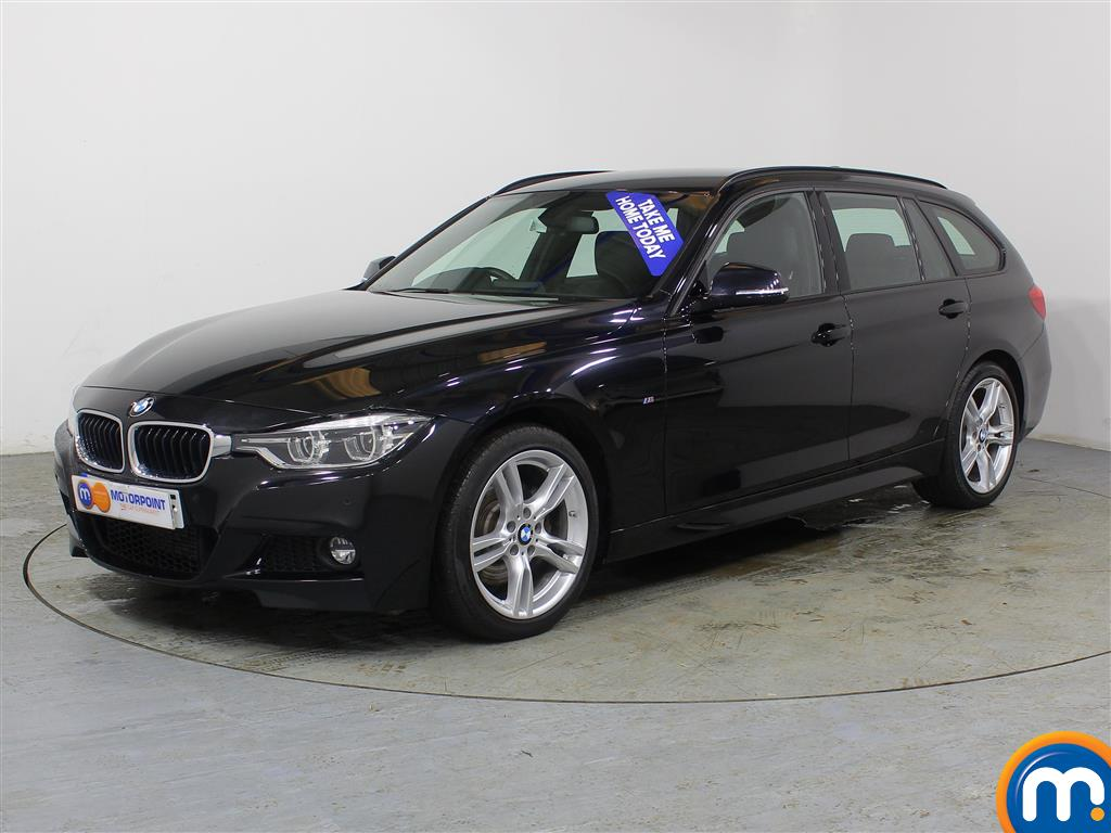 BMW 3 Series M Sport Automatic Diesel Estate - Stock Number (962796) - Passenger side front corner