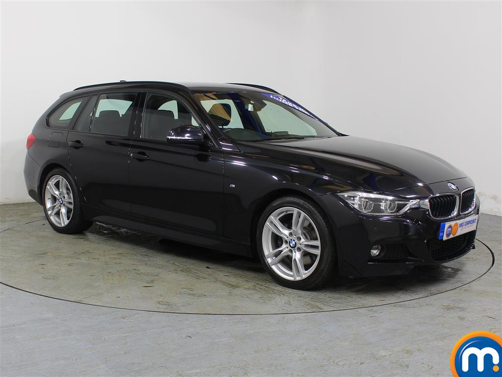 BMW 3 Series M Sport Automatic Diesel Estate - Stock Number (962796) - Drivers side front corner