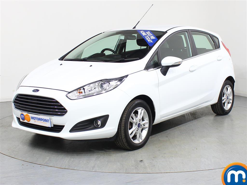 Ford Fiesta Zetec Automatic Petrol Hatchback - Stock Number (969959) - Passenger side front corner