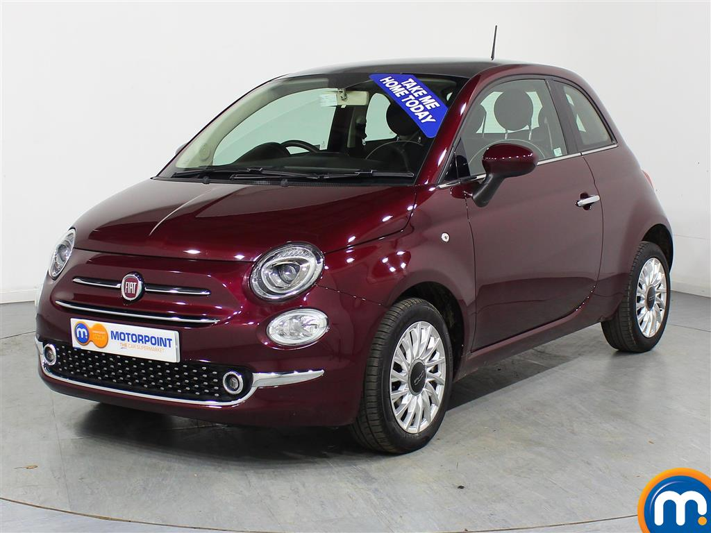Fiat 500 Lounge - Stock Number (966345) - Passenger side front corner