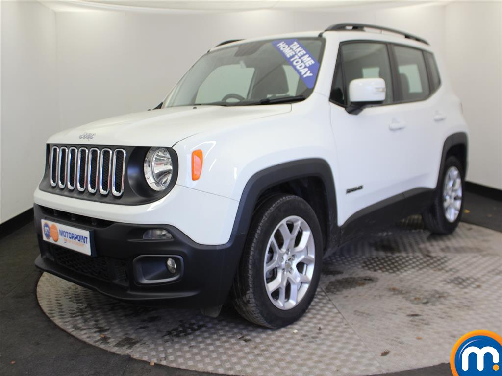 Jeep Renegade Longitude - Stock Number (962179) - Passenger side front corner