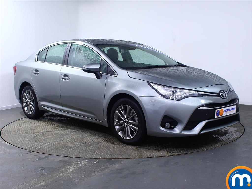 Toyota Avensis Business Edition Manual Diesel Saloon - Stock Number (968810) - Drivers side front corner