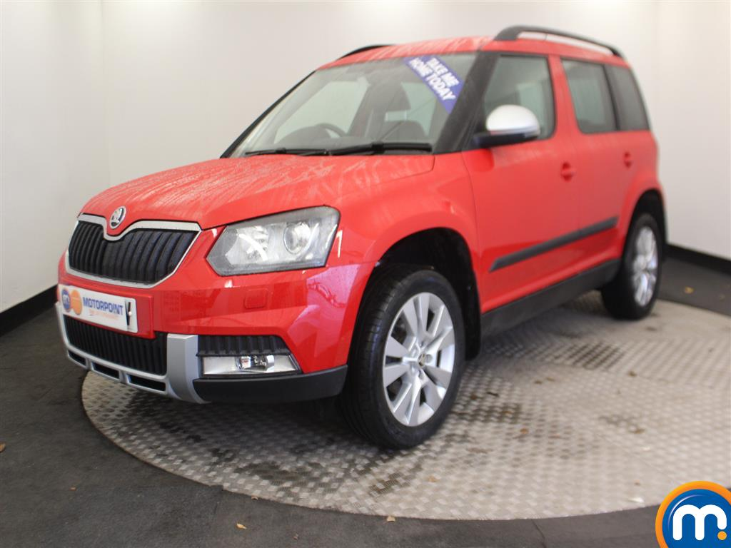 Skoda Yeti Outdoor SE L - Stock Number (963651) - Passenger side front corner