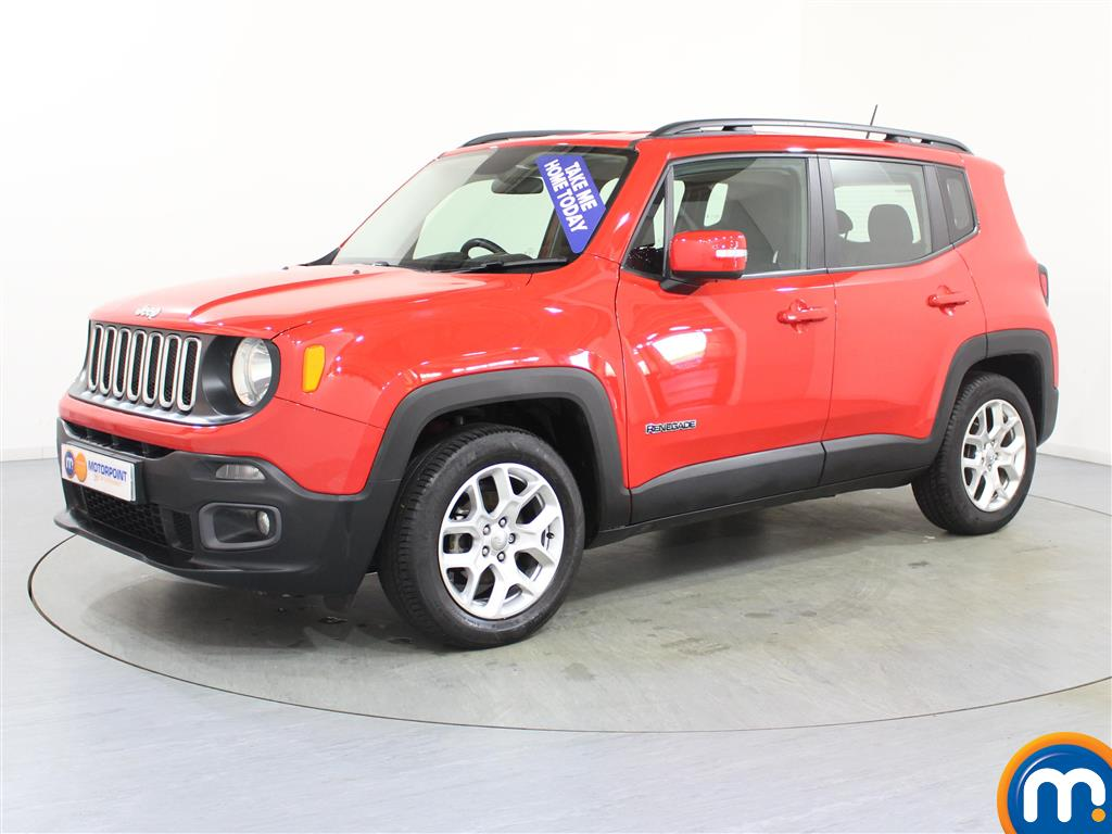 Jeep Renegade Longitude - Stock Number (972850) - Passenger side front corner