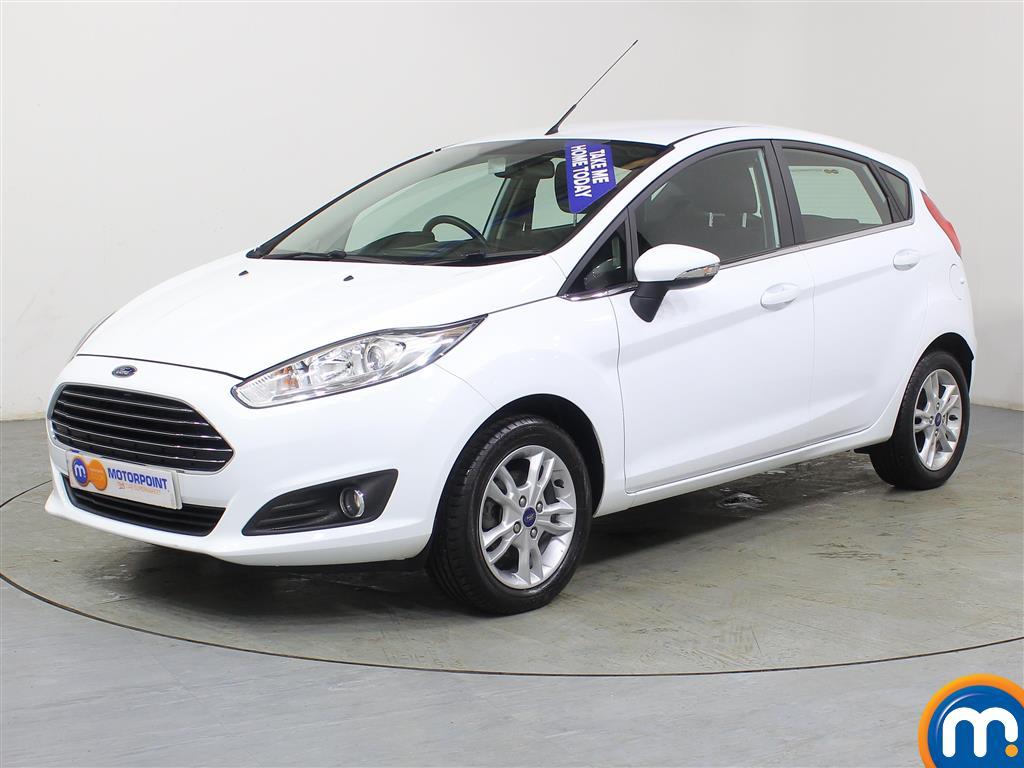 Ford Fiesta Zetec - Stock Number (971906) - Passenger side front corner