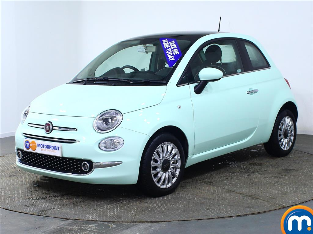 Fiat 500 Lounge - Stock Number (966277) - Passenger side front corner
