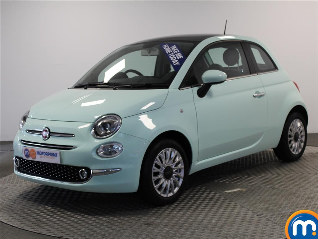 Fiat 500 Lounge - Stock Number (961470) - Passenger side front corner