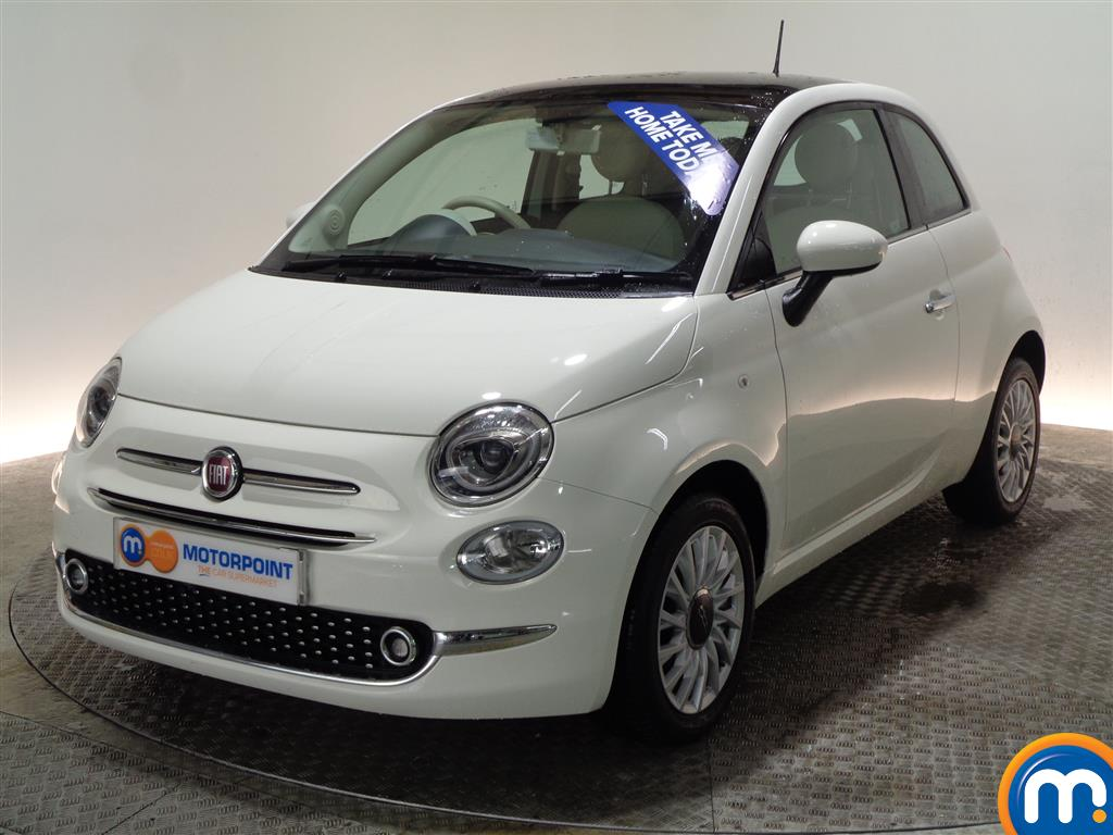 Fiat 500 Lounge - Stock Number (970903) - Passenger side front corner