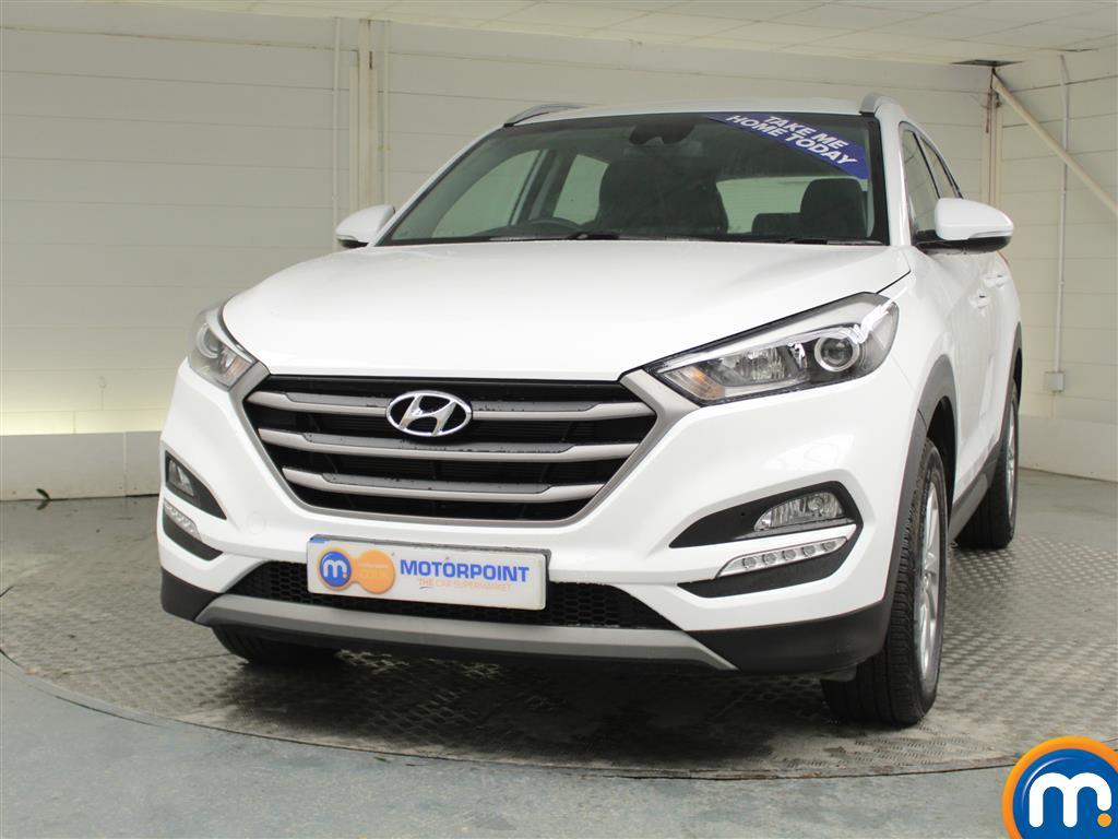 Hyundai Tucson SE - Stock Number (967118) - Passenger side front corner