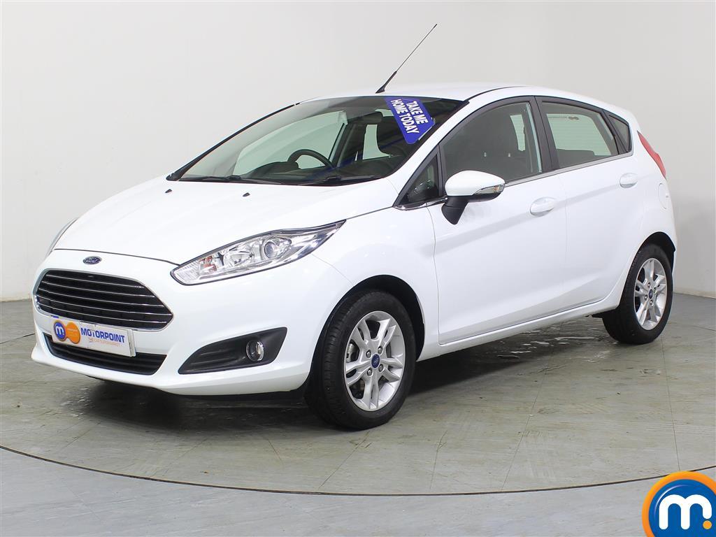 Ford Fiesta Zetec - Stock Number (970875) - Passenger side front corner