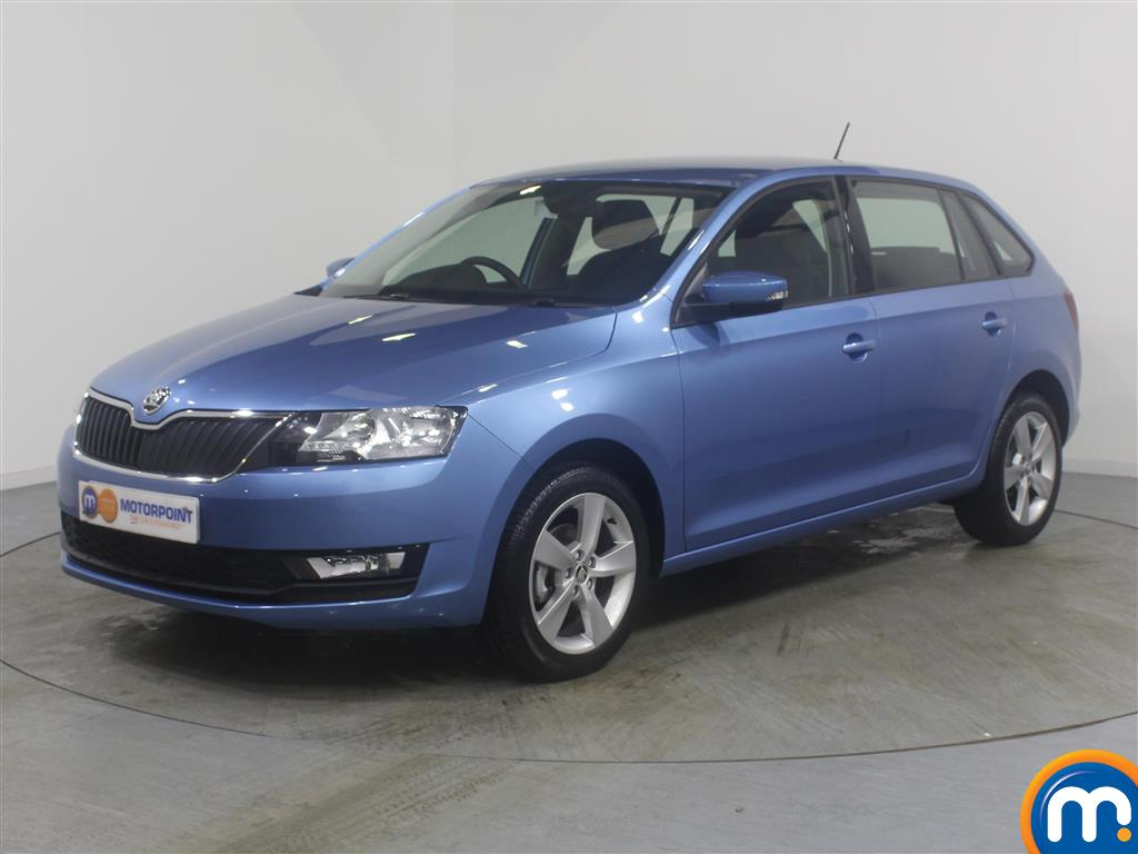 Skoda Rapid Spaceback SE Tech - Stock Number (971365) - Passenger side front corner
