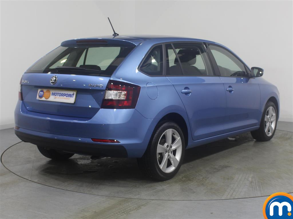 Skoda Rapid Spaceback Se Tech Manual Petrol Hatchback - Stock Number (971365) - Drivers side rear corner