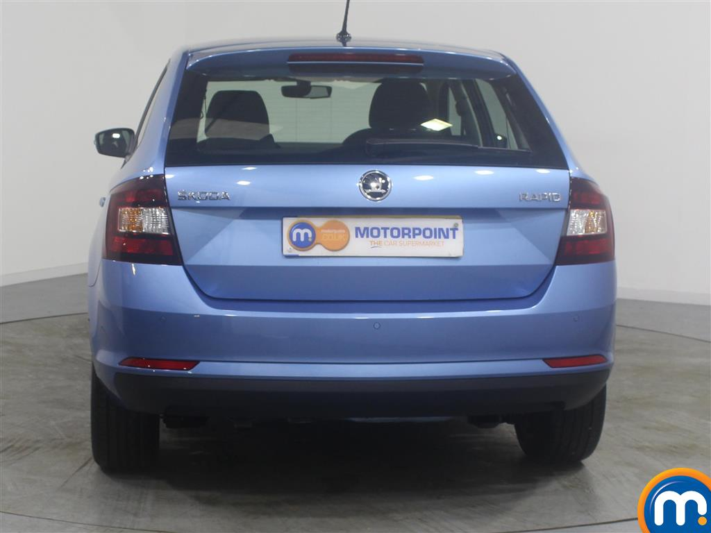 Skoda Rapid Spaceback Se Tech Manual Petrol Hatchback - Stock Number (971365) - Rear bumper