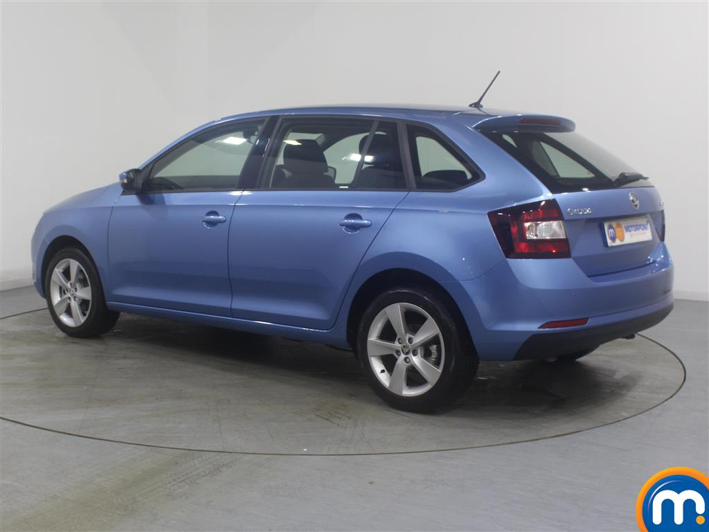 Skoda Rapid Spaceback Se Tech Manual Petrol Hatchback - Stock Number (971365) - Passenger side rear corner