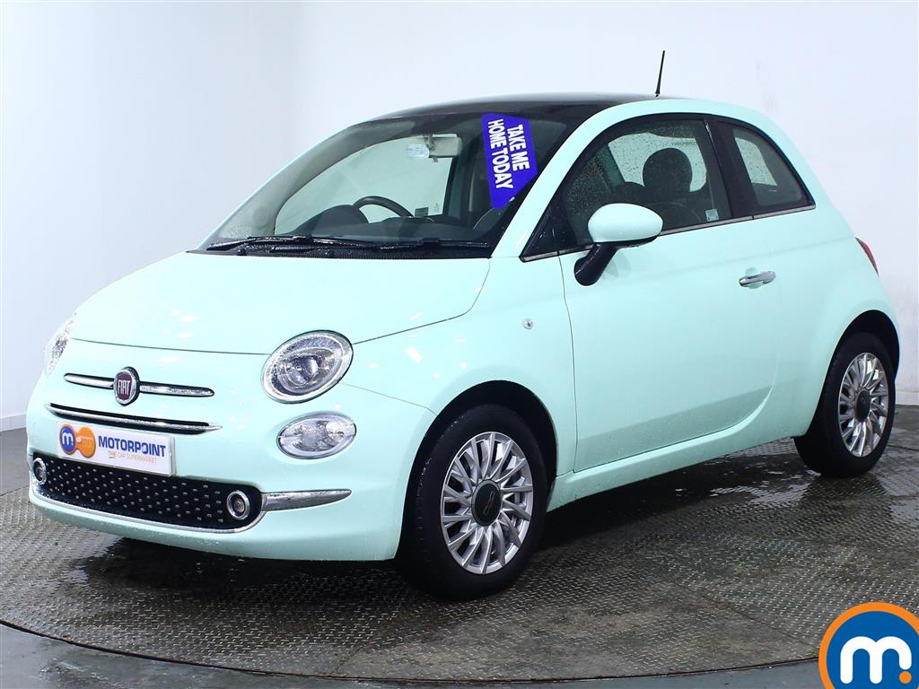 Fiat 500 Lounge - Stock Number 968678 Passenger side front corner