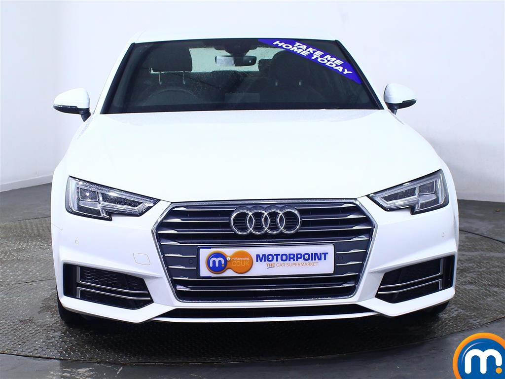 Audi A4 S Line Manual Petrol Saloon - Stock Number (972087) - Front bumper