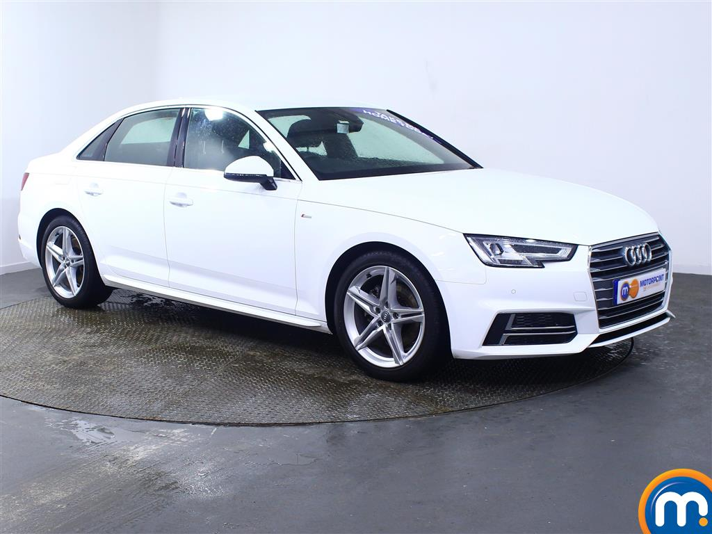 Audi A4 S Line Manual Petrol Saloon - Stock Number (972087) - Drivers side front corner